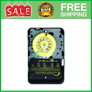Swimming Pool Pump Timer Electric Mechanical Switch Control Metal Enclosure 240V