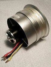 EDF 80mm KV1800 10 Blade Outrunner Motor Alloy Shroud for Airplanes/Jets