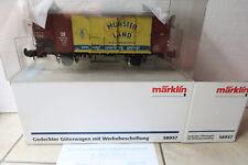 Märklin Spur 1 58957 Gedeckter Güterwagen mit Werbebeschriftung (DI/10-85S4)