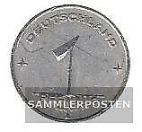 DDR Jägernr: 1501 1949 A sehr schön Aluminium 1949 1 Pfennig Ähre auf Zahnrad