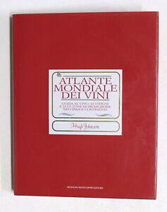 Johnson - Atlante mondiale dei vini - Guida vino vitigni zone produzione - 1995