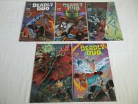 Image Deadly Duo Vol. 1 #1-3 Complete Run + Vol. 2 #1 #4 NM- Spawn Savage Dragon