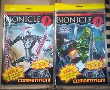 Lego Bionicle Tao nuva and lego bionicle mistika nakuta mazagine set free poster