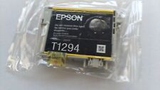 Epson T1294 Original Yellow Ink Cartridge for Stylus SX440w SX438w SX430w SX445w