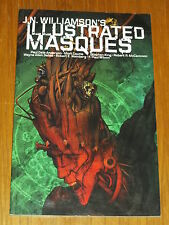 ILLUSTRATED MASQUES IDW J.N. WILLIAMSON GRAPHIC NOVEL 9781613772379 <