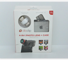 New OEM Olloclip 4-in-1 Gold Photo Lens+Quick-Flip Clear Case For iPhone 5/5s/SE