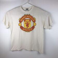 Vintage Manchester United Soccer T-Shirt Size XL