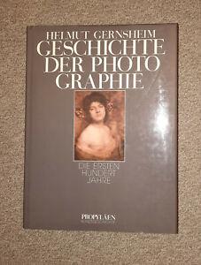 Geschichte der Photographie von Helmut Gernsheim