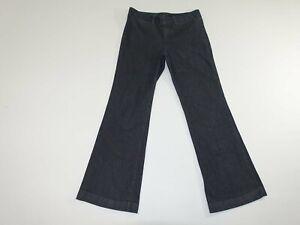 Banana Republic Femmes Martin Fit Jean Pantalon Taille 8 Standard Gris Foncé 8R