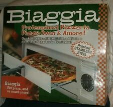 Biaggia Professional Pizzeria Pizza Oven NEW Stainless Steel