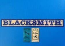 Playmobil Western * Blacksmith *autocollant - Sticker Maison Western