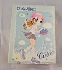 "Cutie Photo Album 6.5"" Anime Tall AV-46-96PC Holds 46 Pictures"