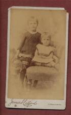 Ilfracombe. 1884.  James S Carford  Children.    CDV photograph qe.27