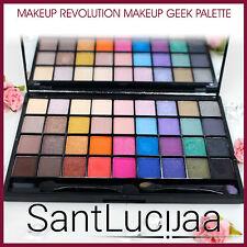 Maquillaje Revolution Ultra 32 Sombra Sombra de Ojos Paleta Maquillaje Geek 32 pieza brillante