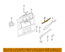 Hummer GM OEM 03-09 H2 Wiper-Rear Window Blade 12335785
