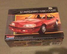 1986 Monogram 87 Thunderbird Turbo Coupe Car Model Kit 1/24