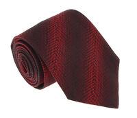 Missoni U4547 Red/Black Graphic 100% Silk Tie