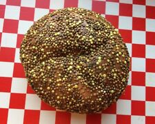 Realistic  Artificial Faux Fake Food Seeds Bread Roll Bun Display Stage Props
