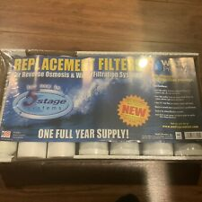 Watts 7-PK RO Filters Premier 1-Year 5-Stage Reverse Osmosis Replacement Filters