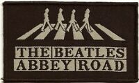 Official Licensed Merch Woven Sew-on PATCH John Lennon THE BEATLES Abbey Road