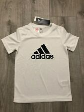 Adidas Originals J TRF Maglietta T-shirt Ragazzo Nero CF8545-BLACK//WHITE