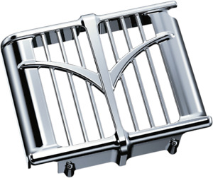 Kuryakyn Chrome Oil Cooler Cover 2014-2021 Indian Chieftain Roadmaster Chief