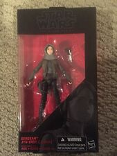Star Wars Sergeant Jyn Erso Jedha Rogue One Black Series 6 Inch Action Figure