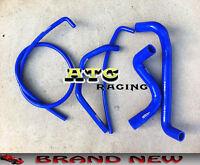 For HOLDEN COMMODORE VZ V8 5.7L Silicone Radiator Hose BLUE