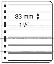 'Lighthouse Vario Stamp Storage Pages-7C-7 to a Sheet-Clear Back-1 sided