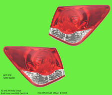 Holden Cruze 09 2010 2011 2012 2013 2014 2015 2016 2017 Left Right Tail Lights
