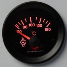 Manometro Strumento Road Italia Retroilluminato Temperatura Olio 50-150 °C Rosso