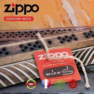 Zippo Mèche de Rechange Individuelle pour Briquets Coupe - Vent Zippo