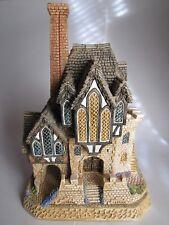 David Winter Marquis Walter's Manor-The Pilgrim's Way Collection w/Box+Coa-D1032