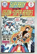 Superboy #209-1975 fn Legion Of Super-Heroes Mike Grell Karate Kid new costume
