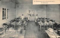 Sanatorium de la Guiche - un réfectoire