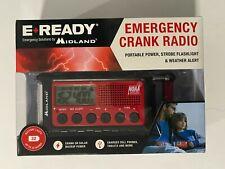 MIDLAND E READY EMERGENCY COMPACT CRANK RADIO MIDLAND 25 HOUR BATTERY ER310 CHAR