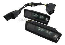 2x Original Seat Luces De Matrícula LED + CANBUS Conexión Cable adaptador #1k