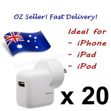 20 x AC Wall Charger for APPLE iPhone, iPad & iPod