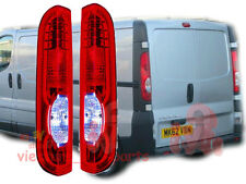 RENAULT TRAFIC / VAUXHALL VIVARO / PRIMASTAR  09/2006 - REAR BACK TAIL LIGHT SET