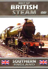 BEST OF STEAM ~ SOUTHERN ENGLAND NEW DVD PRESERVED RAILWAYS LOCOMOTIVES