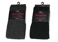 STRUMPFHOSE Baumwolle 3er Pack! Strickstrumpfhose mit Elasthan - handgekettelt