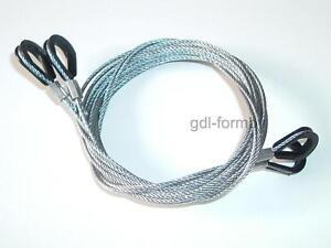 GARADOR Doors CABLES wires PAIR Garage Door Spares Mk3c Westland Catnic Mk3