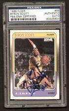 Byron Scott 1988 Fleer Basketball Card signed autograph auto PSA/DNA Slabbed