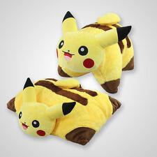 "17"" inch Pokemon Transforming Pillow Pikachu Pillow Pet Plush-Cushion Doll Toy"