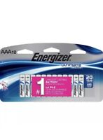 Energizer Ultimate Lithium AAA Batteries 12 Pack Exp. 2037