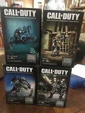 New Call of Duty Mega Bloks Collector Construction Sets Lot