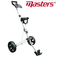 Masters 5 Series Lightweight Compact 2 Wheel Pull Golf Trolley Cart