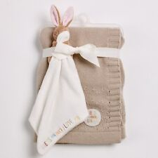 Devine Combien Je T'aime Vous tricoté Bébé Couverture et Duvet Set Cadeau