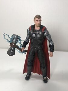 Marvel Legends Infinity War Thor From Cull Obsidian BAF Wave With Stormbreaker
