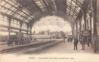 CPA 21 DIJON GRAND HALL DE LA GARE
